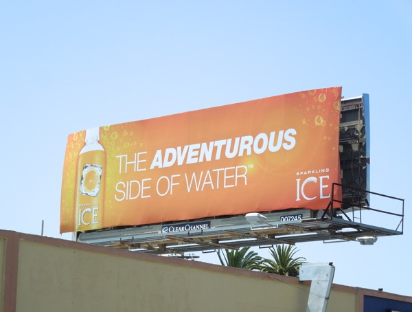 Sparkling Ice Water billboard