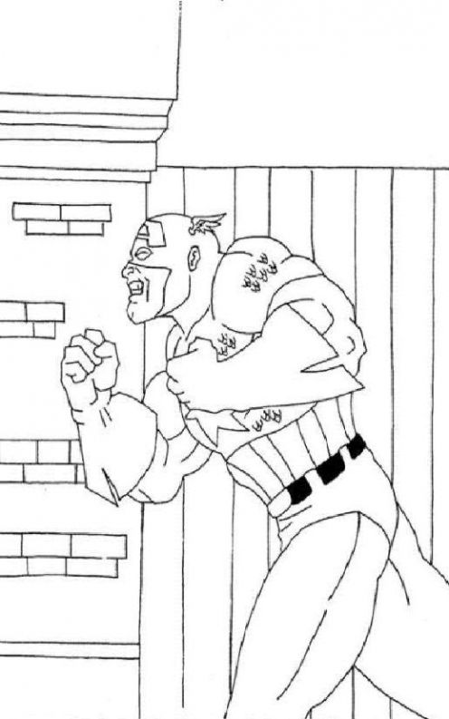 fun coloring pages  captain america coloring pages