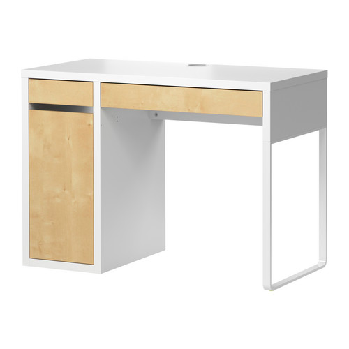 650 square feet ikea micke desk revamp. Black Bedroom Furniture Sets. Home Design Ideas