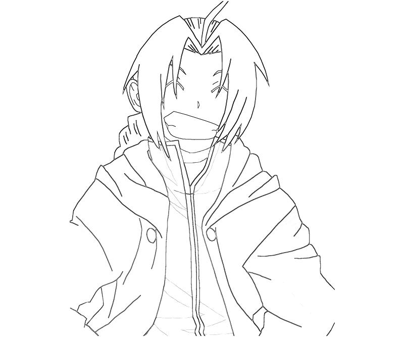 printable-edward-elric-smile-coloring-pages