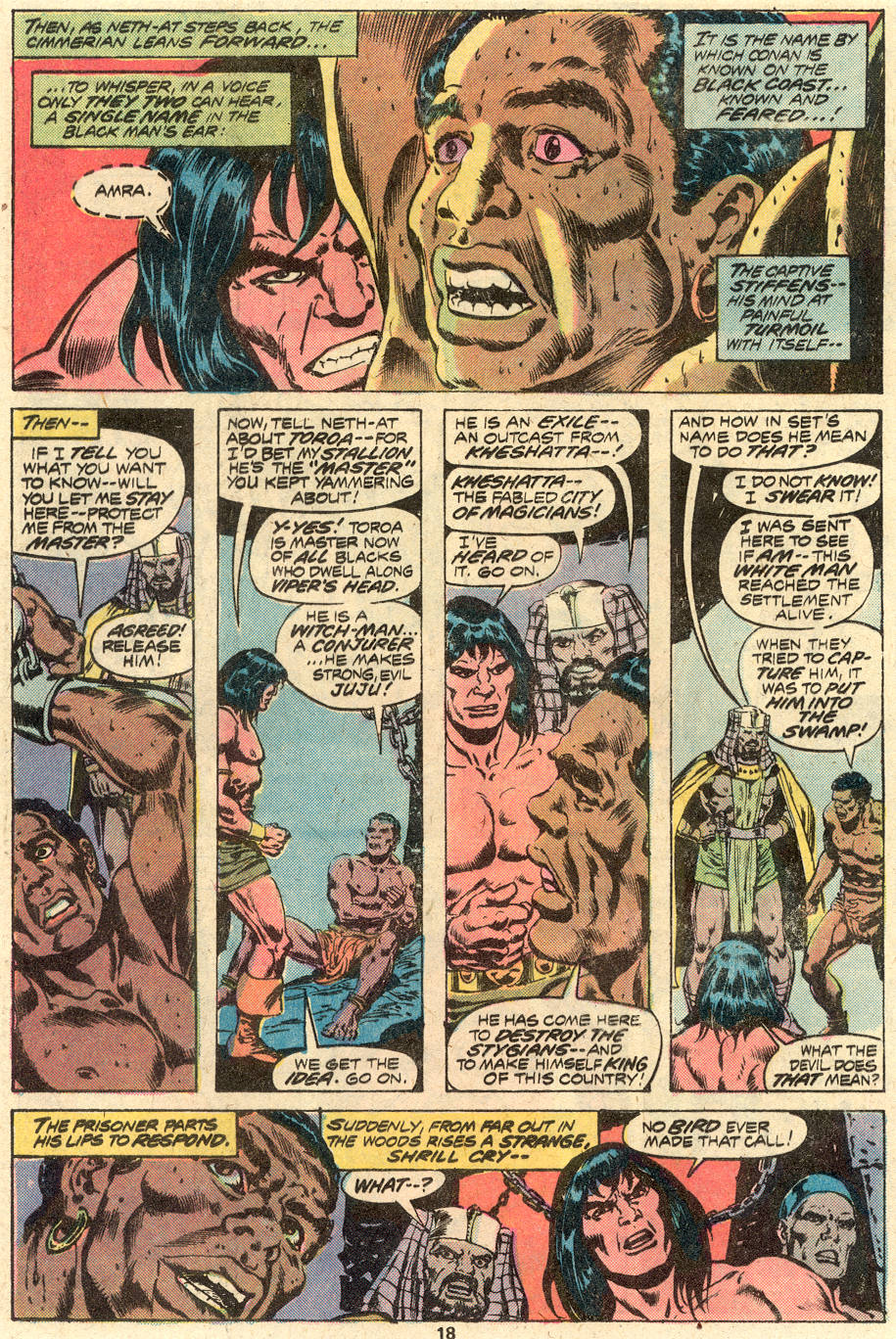 Conan the Barbarian (1970) Issue #82 #94 - English 13