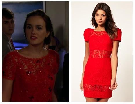 Blair s red dress season 5