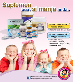 Suplemen Shaklee untuk kanak-kanak