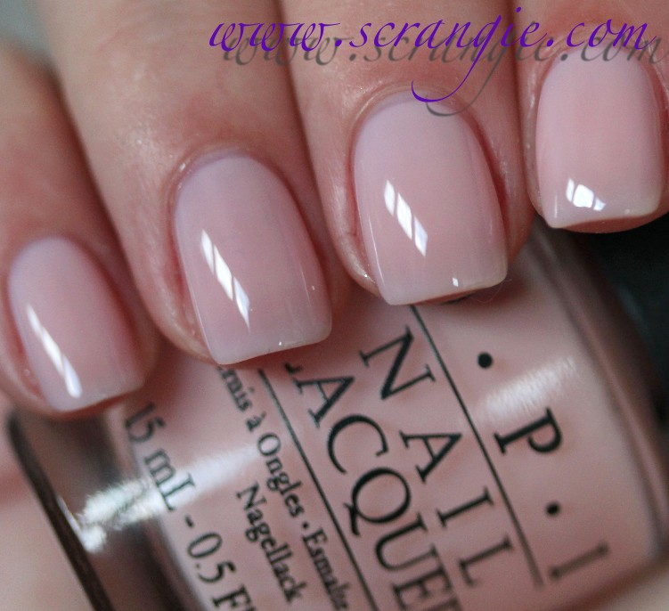Scrangie: OPI NYC Ballet Soft Shades Collection Spring 2012 Swatches ...