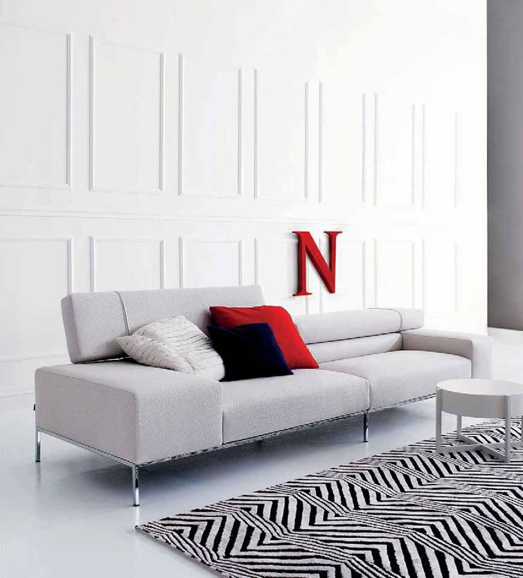 Italian modern sofa back 2 home for Modern italian furniture