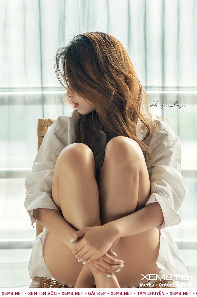 Ngắm hình gái đẹp không mặc quần lót