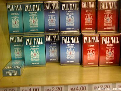 Ireland cigarettes Winston pack price