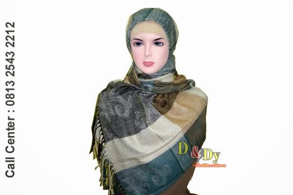dndy collection, pusat grosir jilbab jakarta, pusat grosir jilbab semarang, jilbab pashmina, kerudung pashmina, model kerudung terbaru