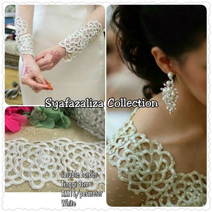 Soluble Lace