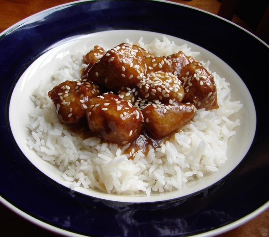 Nummy kitchen chinese restaurant style sesame tofu chinese restaurant style sesame tofu forumfinder Images