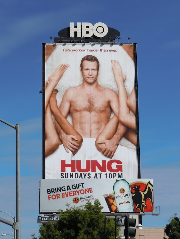 Hung and Bacardi billboards