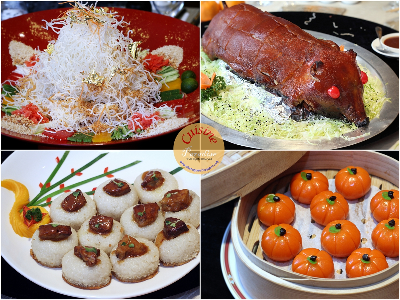 Recipes Reviews And Travel Lunar New Year Lo Hei At Grand Park City