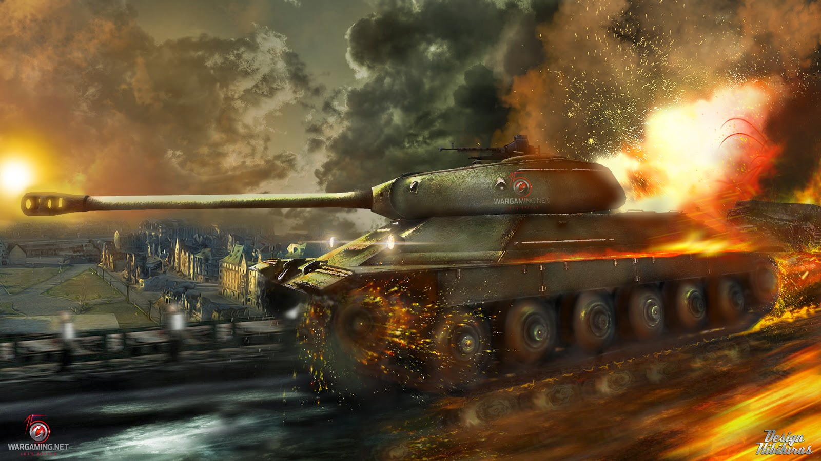 MOD Sonido Historico Real Cañones Tanques 0.9.X WOT