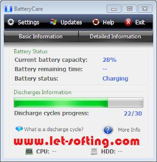 Downoad BatteryCare 0.9.12.1