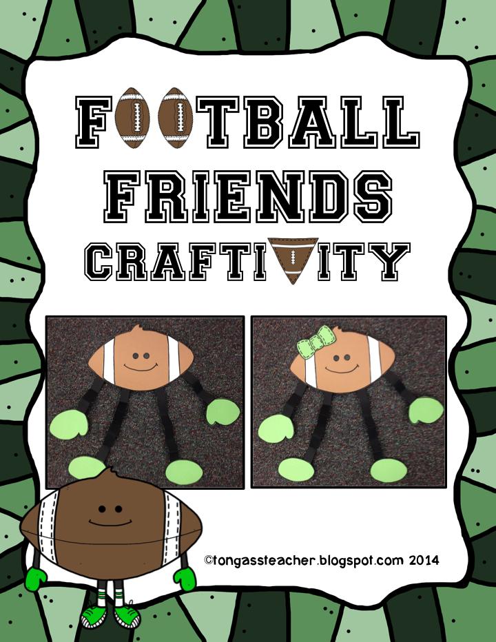 http://www.teacherspayteachers.com/Product/Football-Friends-Craftivity-1063572