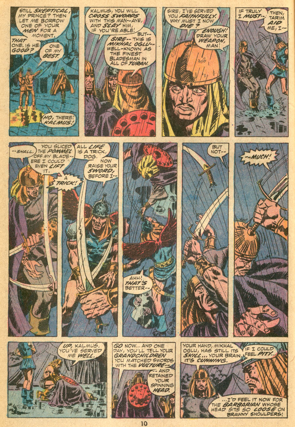 Conan the Barbarian (1970) Issue #23 #35 - English 8