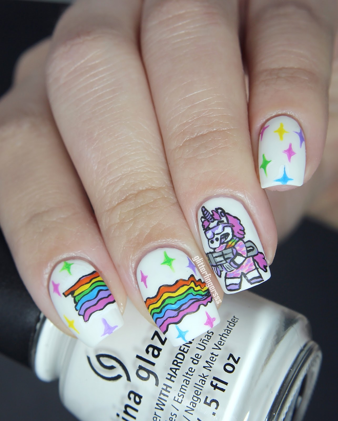 On Shutterstock And I Know That Have To Paint It My Nails So If Youve Ever Wondered How Rainbows Are MadeI A Tip For You D