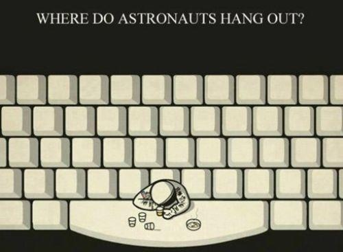 Where Do Astronauts Hang Out? Picture
