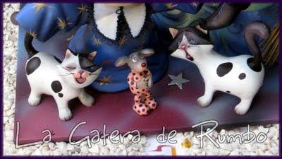 Detalle felino del Ninot Infantil indultado. H. I. Gran Vía La Cerámica