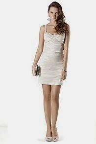 vestido corto para celebraciones en el dia