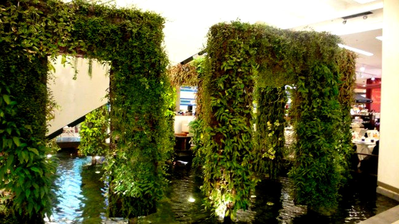 vertical garden concept for buildings greenwall vertical garden system for commercial. Black Bedroom Furniture Sets. Home Design Ideas