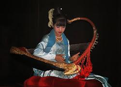 A Burmese Harpist