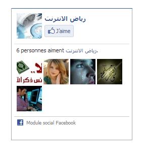 اضافة صندوق الاعجاب بصفحة في الفيسبوك لمدونة بلوجر