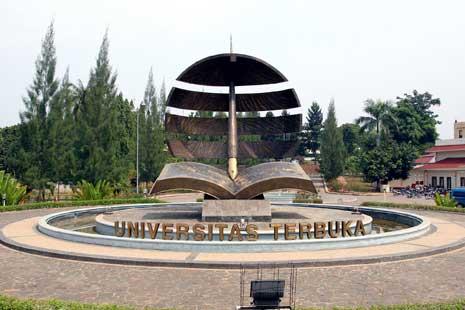 universitas terbuka adalah sebuah sebuah perguruan tinggi yang moderen