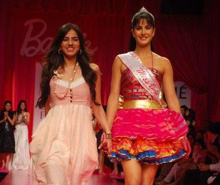 Bollywood actress Katrina Kaif as Barbie Doll