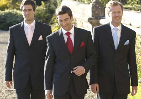 Dress code cocktail lounge suit for men