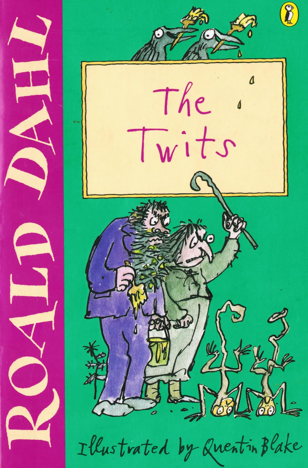 little library of rescued books the twits by roald dahl