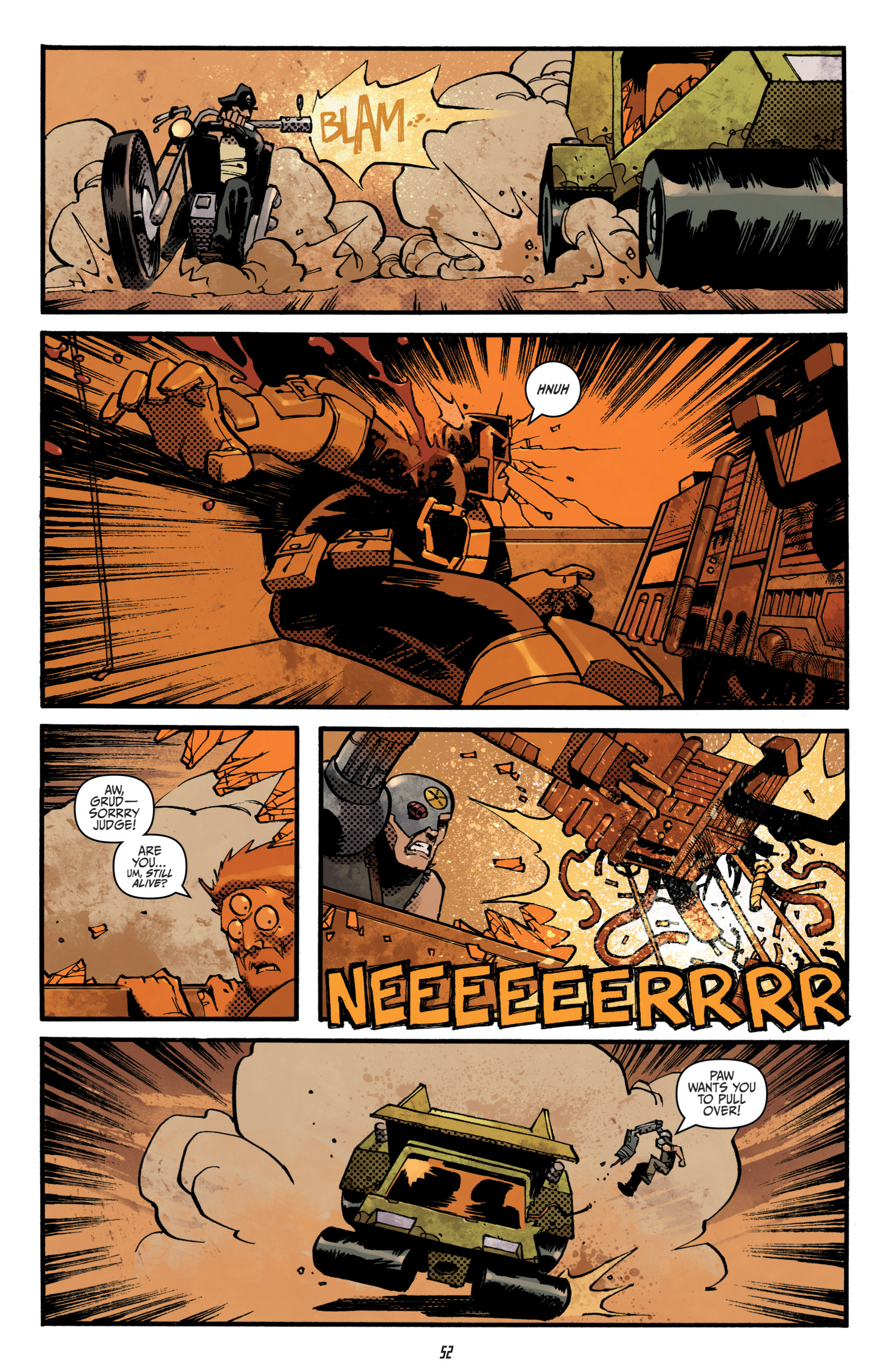 Read online Judge Dredd (2012) comic -  Issue # _TPB 3 - 52