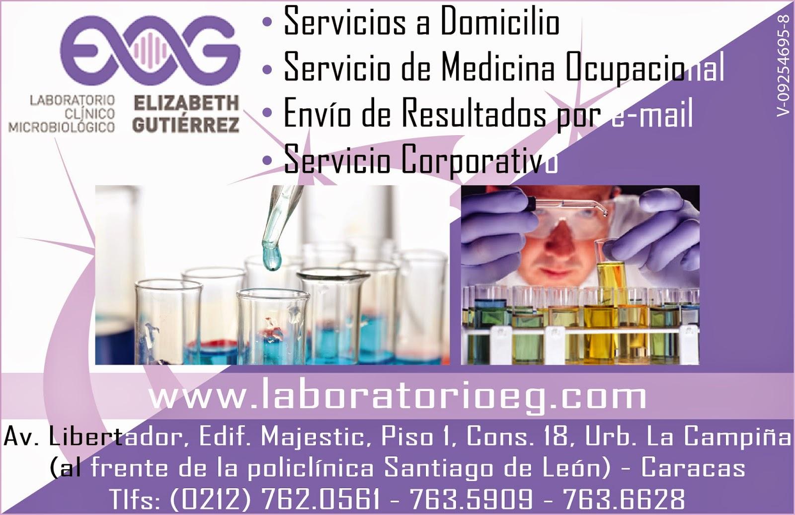 LABORATORIO CLINICO MICROBIOLOGICO ELIZABETH GUITIERREZ en Paginas Amarillas tu guia Comercial