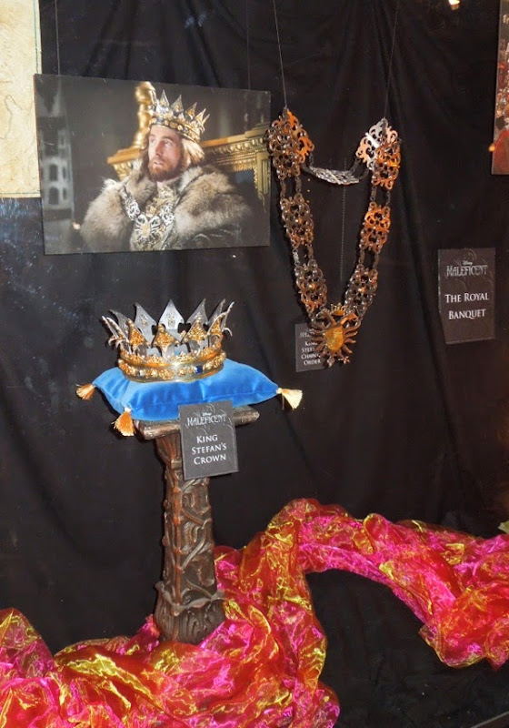 King Stefan crown and chain Maleficent