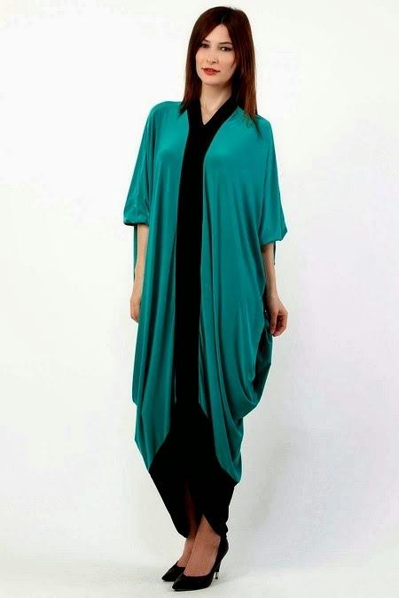 Latest Colorful Abaya Fashion 2014