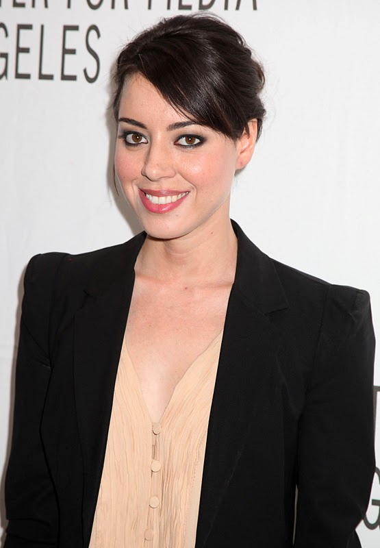American Comedian and Singer Aubrey Plaza