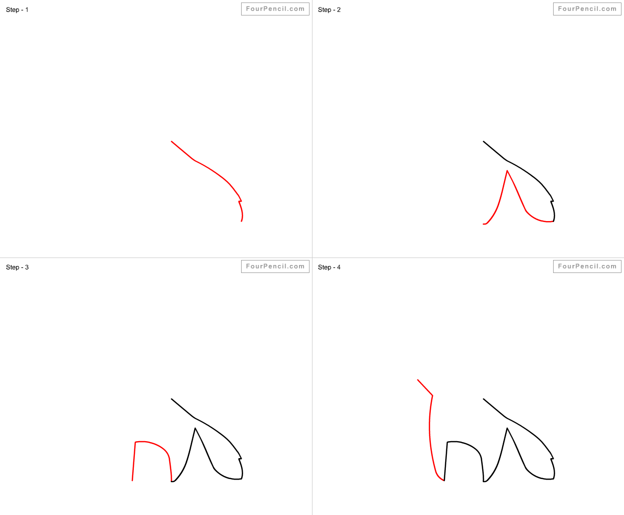 how to draw the 7 continents step by step