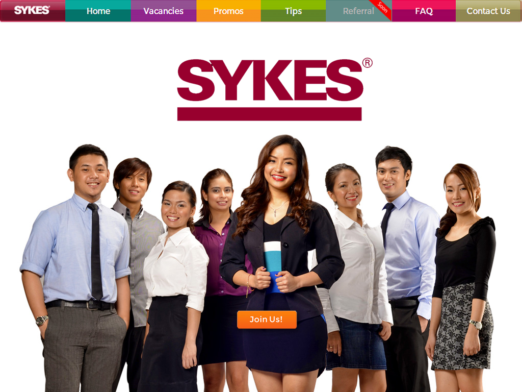 It's Fast & Easy to Apply with SYKES Online E-Recruitment Site!