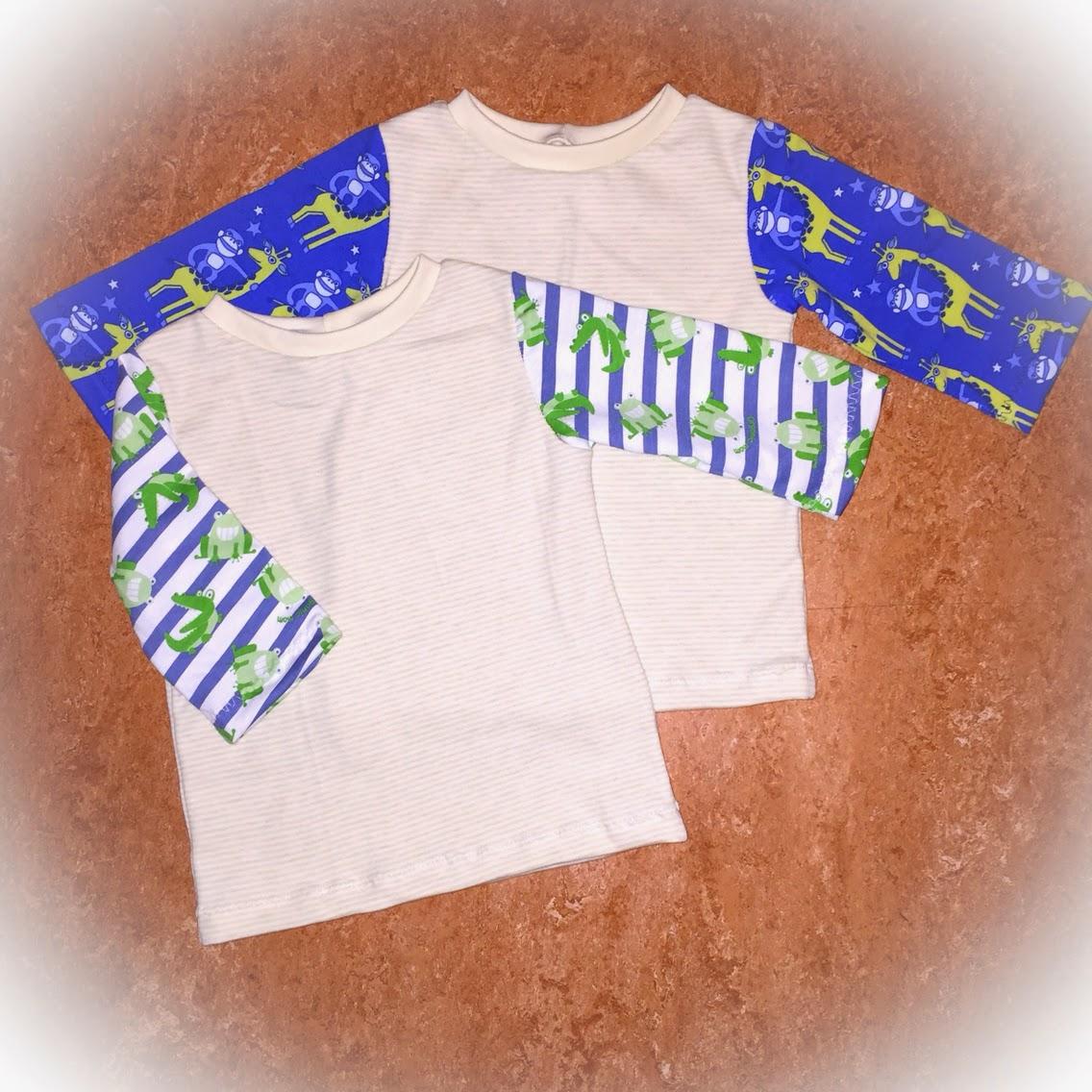 pyjamas tröja sy barnkläder inspiration