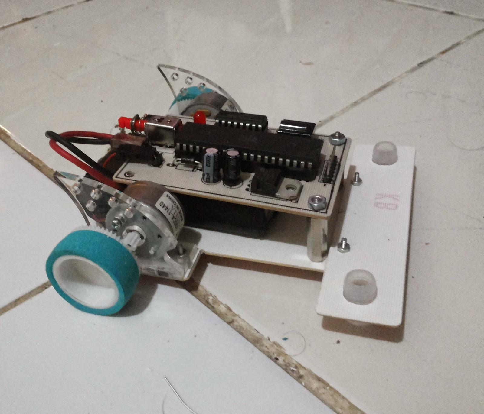 cara membuat robot line follower atau line tracer dengan