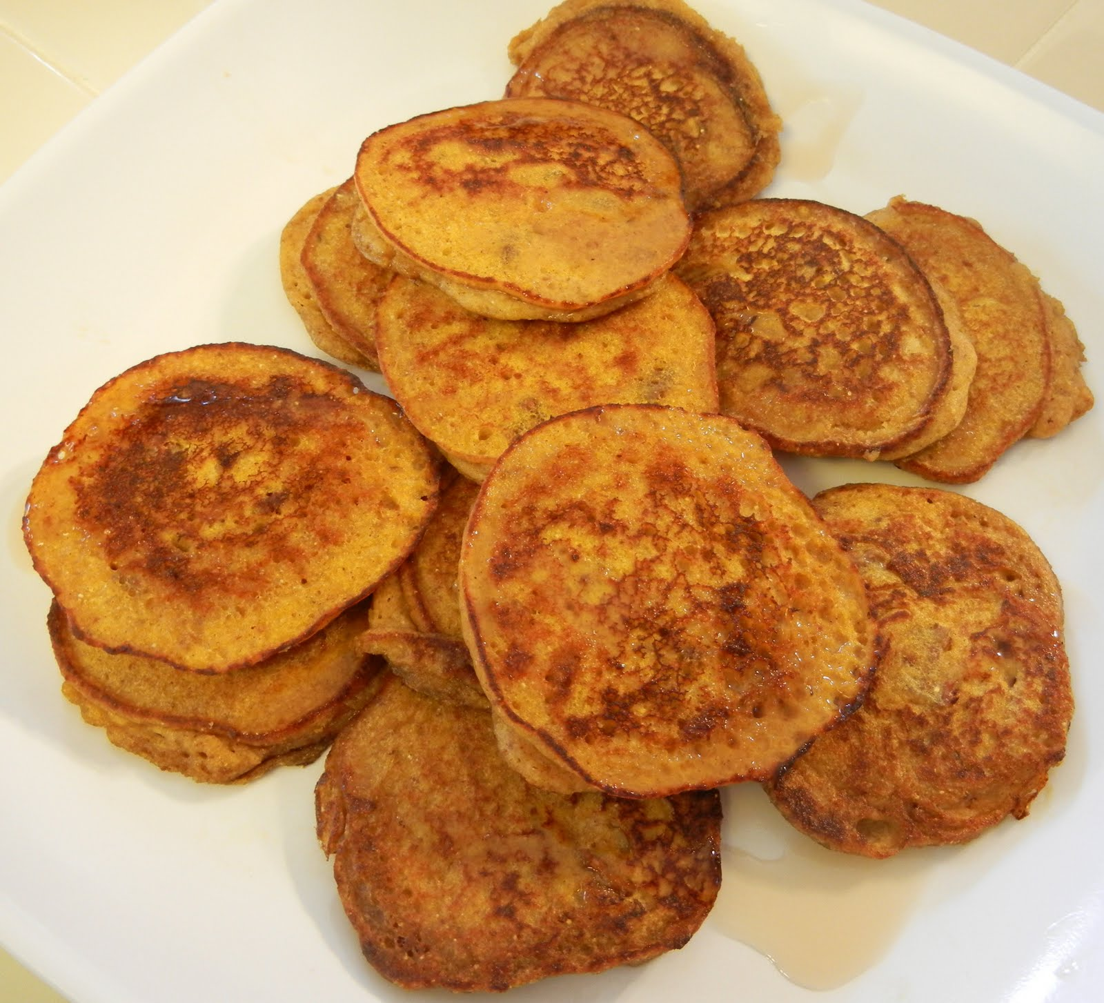 Shelly's Pumpkin Protein Pancakes
