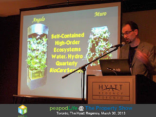 PeapodLife's Presentation at The Property Show, Toronto, 2013, photo by Olga Goubar