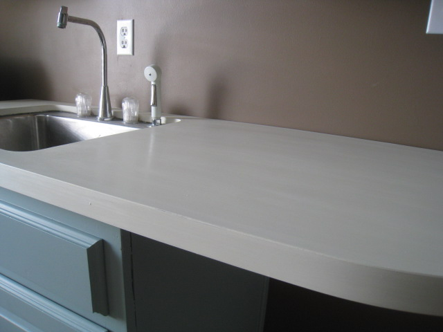 Countertop Paint Colors : Hopefully these photos are more pleasing to the eye now that Ive ...