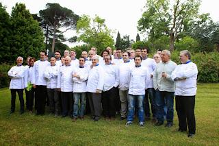 Euro-Toques 50 Grandi Cuochi riuniti a Villa Lario