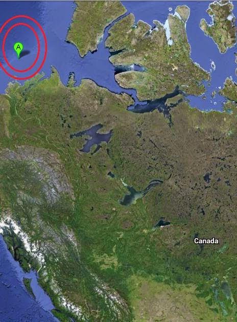 Magnitude 3.3 Earthquake of Tuktoyaktuk, Canada 2014-09-16