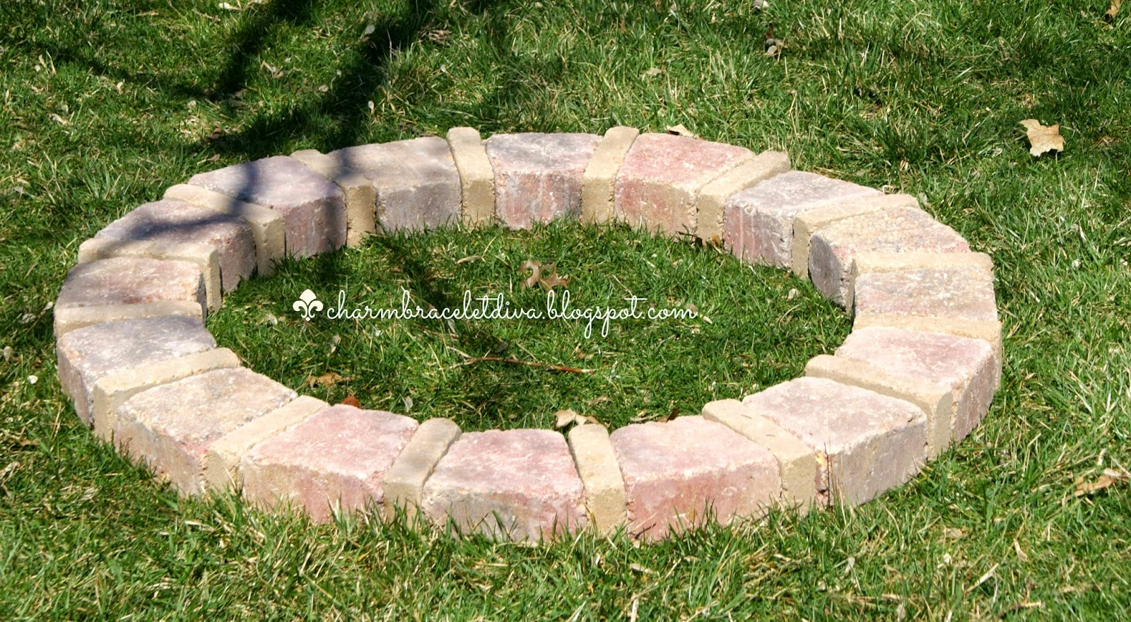 DIY fire pit ring