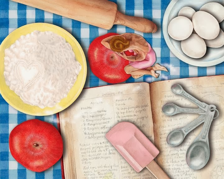 Baking Day ~ Colored Pencil