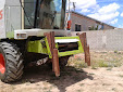 Forage harvester. Claas Lexion 420