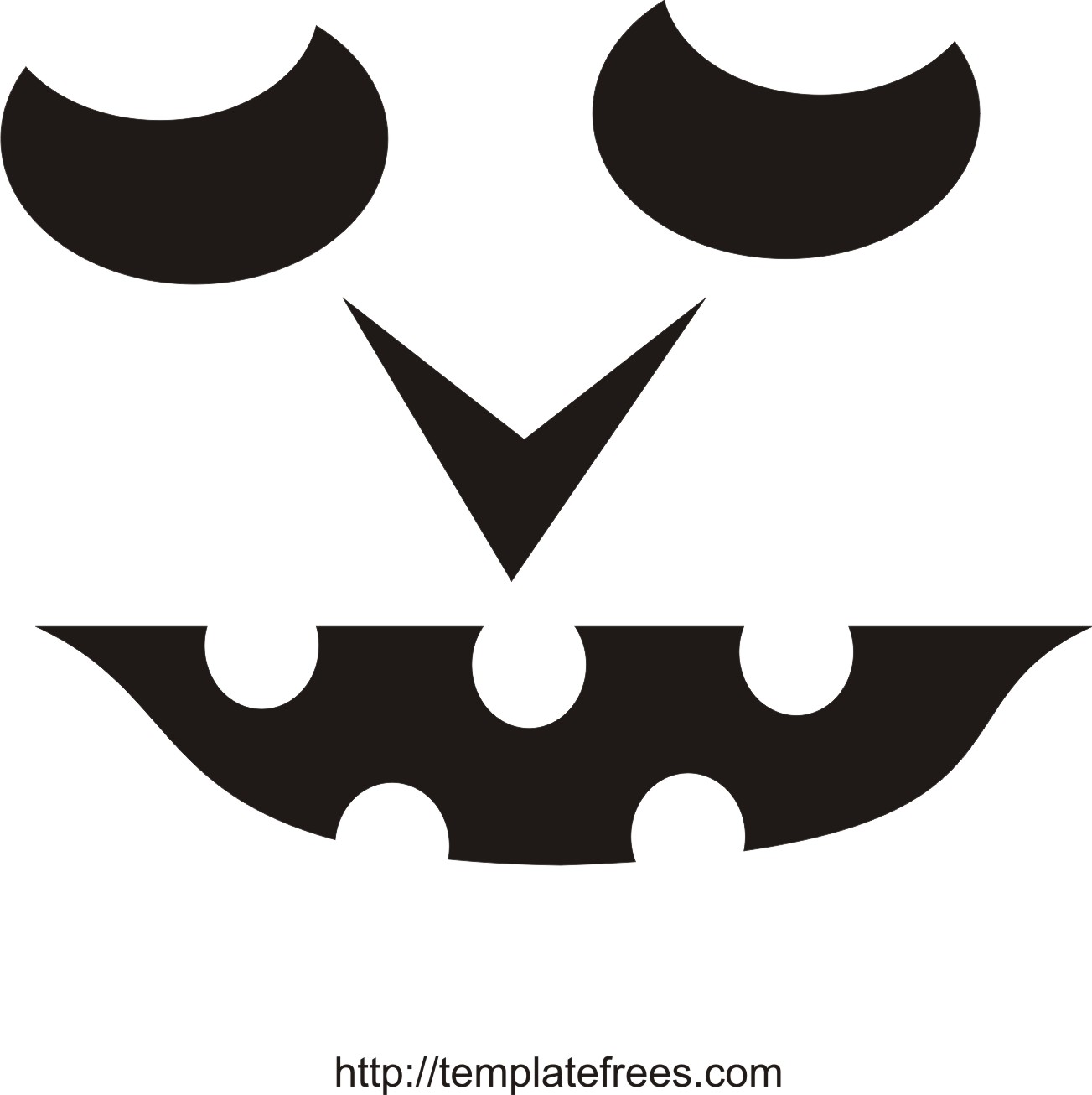 This is an image of Eloquent Pumpkin Carving Designs Free Printable