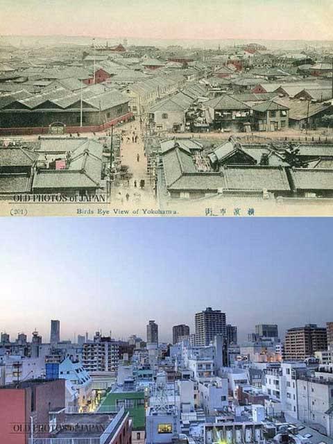 Foto Jepang Sekarang Dan 100 Tahun Lalu